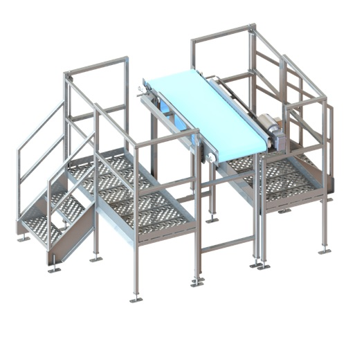 inspection system platform food processing packaging equipment